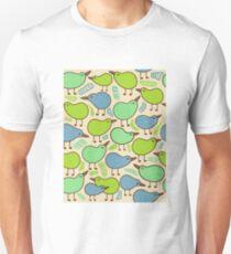 Kiwi bird party Slim Fit T-Shirt