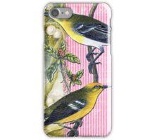 Vintage Bird Hard Journal Cover iPhone Case/Skin