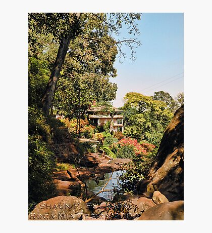 Temple Bathing Area Photographic Print