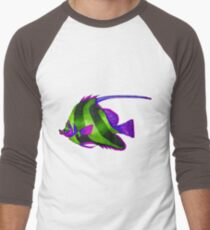 odd green fish painting T-Shirt