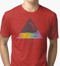 Camiseta de tejido mixto Respirar