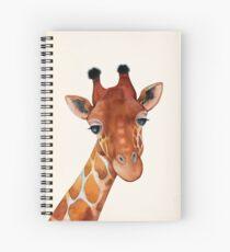 Giraffe Watercolor Spiral Notebook