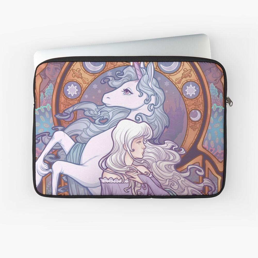 Lady Amalthea - The Last Unicorn Laptop Sleeve