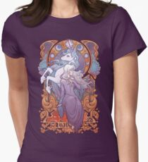 Lady Amalthea - The Last Unicorn Fitted T-Shirt