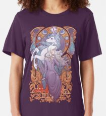 Lady Amalthea - The Last Unicorn Slim Fit T-Shirt