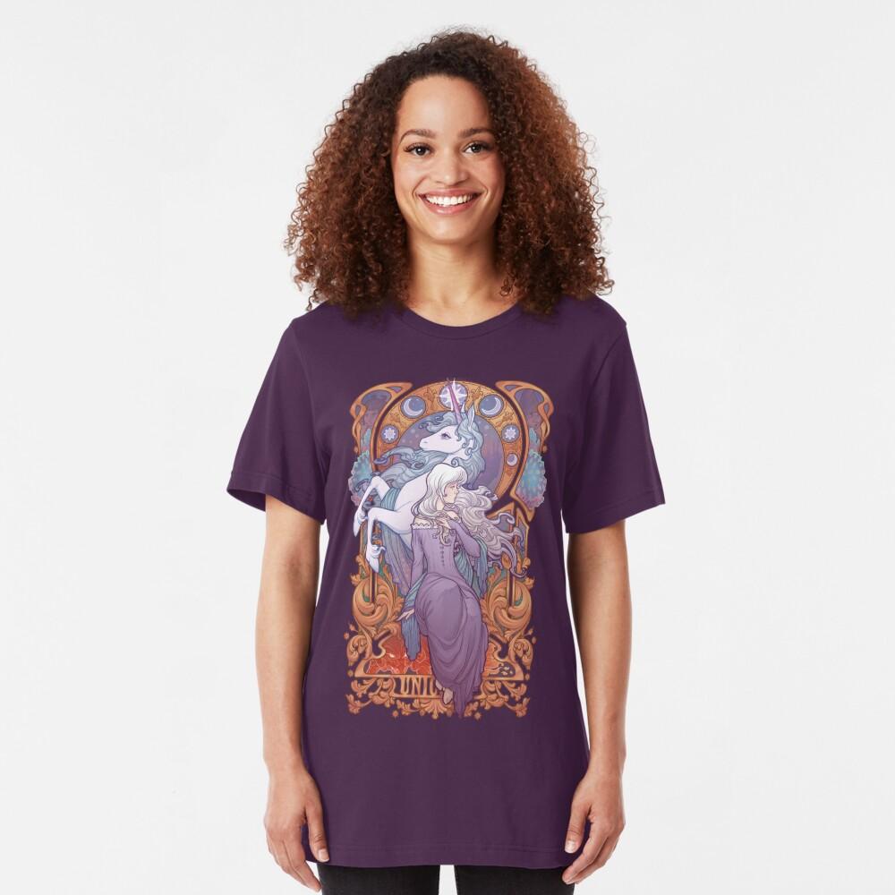 Lady Amalthea - The Last Unicorn Slim Fit T-Shirt