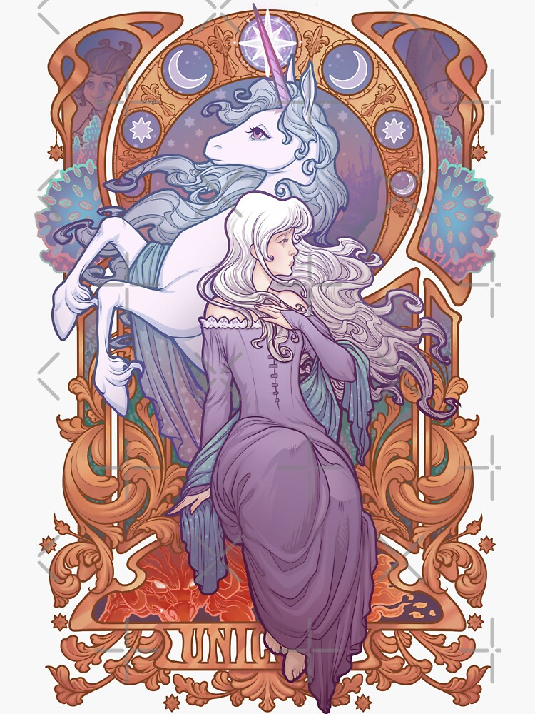 Lady Amalthea - The Last Unicorn by medusadollmaker