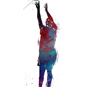 Basketball sport art #basketball by JBJart