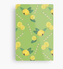 lemonade_green Metal Print