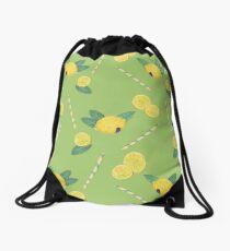 lemonade_green Drawstring Bag