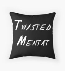 Twisted Mentat Throw Pillow