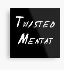 Twisted Mentat Metal Print
