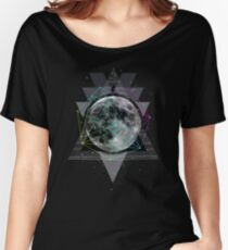 The Moon Women's Relaxed Fit T-Shirt