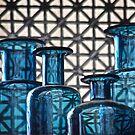 Blaue Flaschen von autumnwind