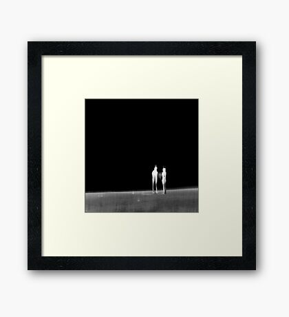 A look into the Unknown Framed Print