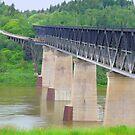 Old Nipawin Bridge Over Saskatchewan River,Sask.Canada by MaeBelle