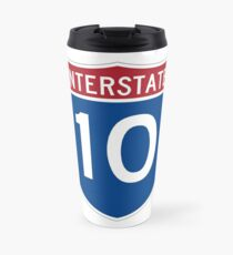 Interstate 10 Travel Mug