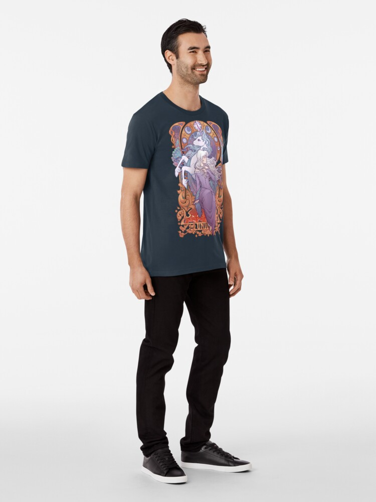 Alternate view of Lady Amalthea - The Last Unicorn Premium T-Shirt