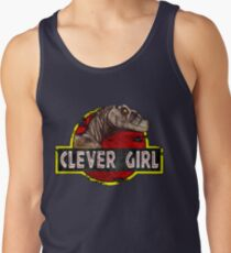 fcc3ae8e955d9 Clever Girl Men s Tank Top