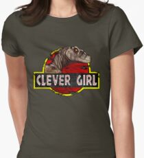 Clever Girl Women's Fitted T-Shirt