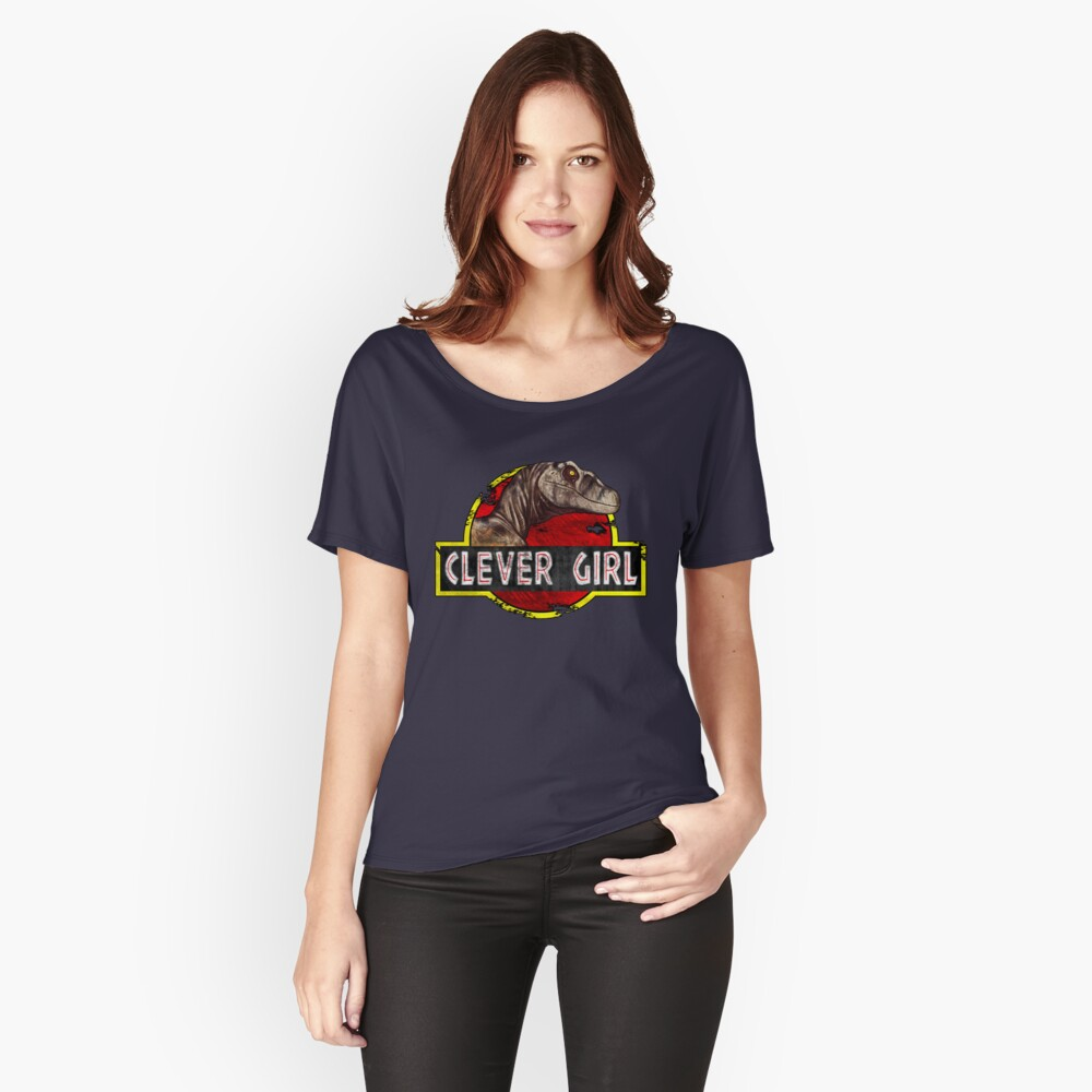 Clever Girl Relaxed Fit T-Shirt