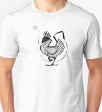DoubleZodiac - Libra Rooster Unisex T-Shirt