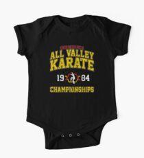 1984 Alle Tal-Karate-Meisterschaften Baby Body Kurzarm