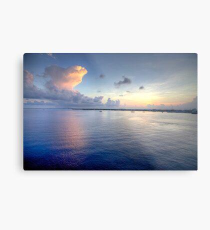 Grand Cayman HDR Sunrise Metal Print