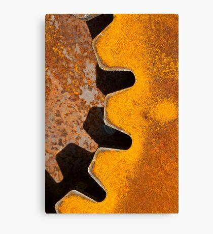 Teeth of Steel Canvas Print