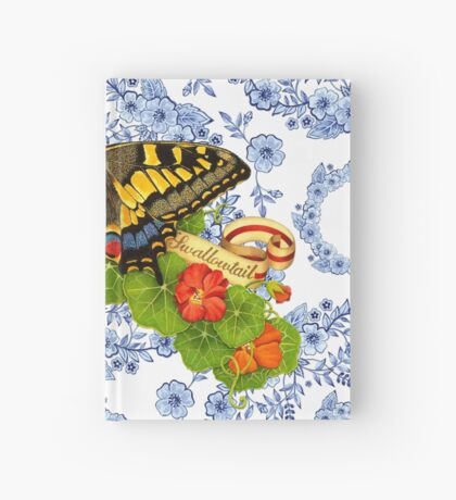 Old World Swallowtail and Blue Rhapsody Hardcover Journal