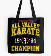 1984 All Valley Karate Champion Tote Bag