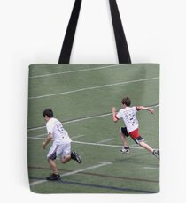 40 Yard Dash Tote Bag