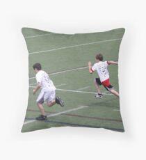 40 Yard Dash Throw Pillow