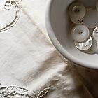 White Button by Cari Jo Blain