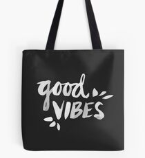 Gute Stimmung - Weiße Tinte Tasche