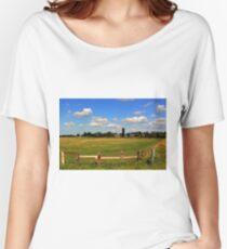Pastoral Landscape Women's Relaxed Fit T-Shirt