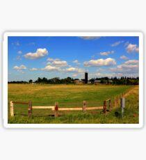 Pastoral Landscape Sticker