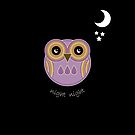 Night Night Purple Owl by Louise Parton