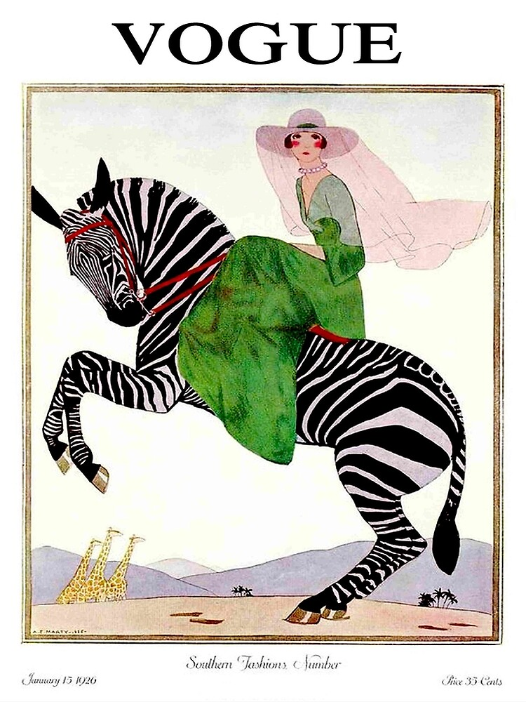 VOGUE : Vintage 1926 Magazine Advertising print by posterbobs
