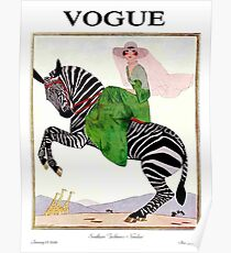 VOGUE : Vintage 1926 Magazine Advertising print Poster