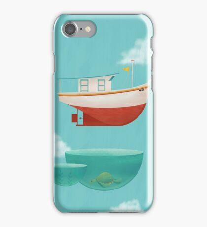 Floating Boat iPhone Case/Skin