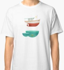 Floating Boat Classic T-Shirt