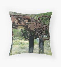 """""""When Tractors Fly"""" - OK! Throw Pillow"""
