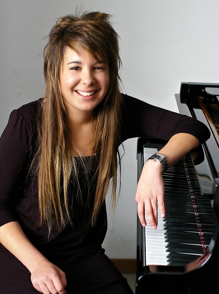 Eda - Piano Recital at Bilkent University by Akif  Kaynak