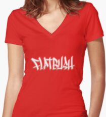 Untitled Fitted V-Neck T-Shirt