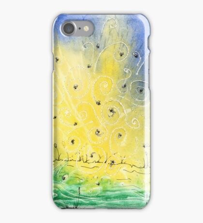 Lightning Bugs iPhone Case/Skin