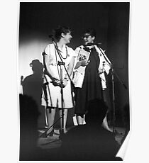 Mandy and Melanie Salomon perform at Sedition at The Sydney Trade Union Club 1983 Poster