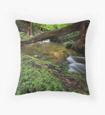 """""""From the Log"""" Throw Pillow"""