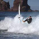 PHILLIP ISLAND SURFER by Joseph Darmenia