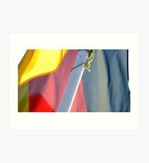 German Flag Art Print